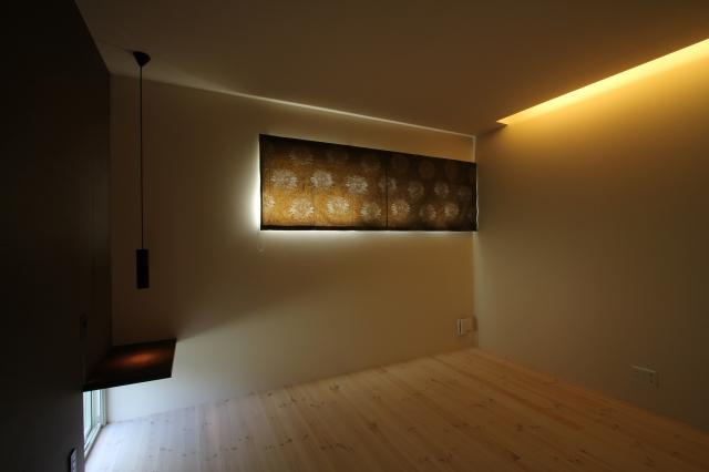 寝室の照明