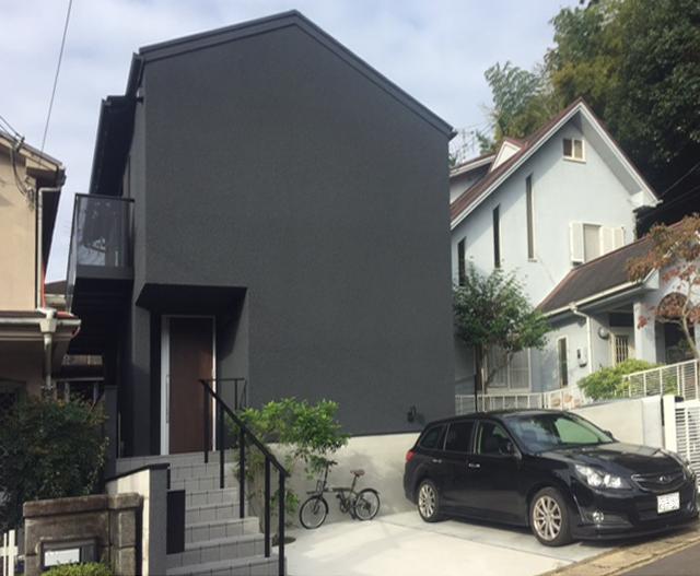 京都の黒い家